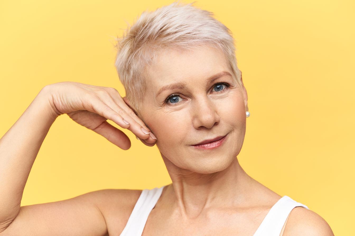 cabelos na menopausa