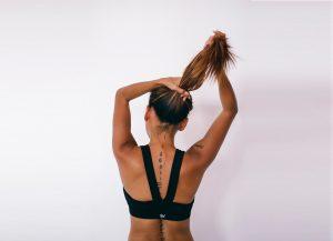 cabelos no pré e pós treino