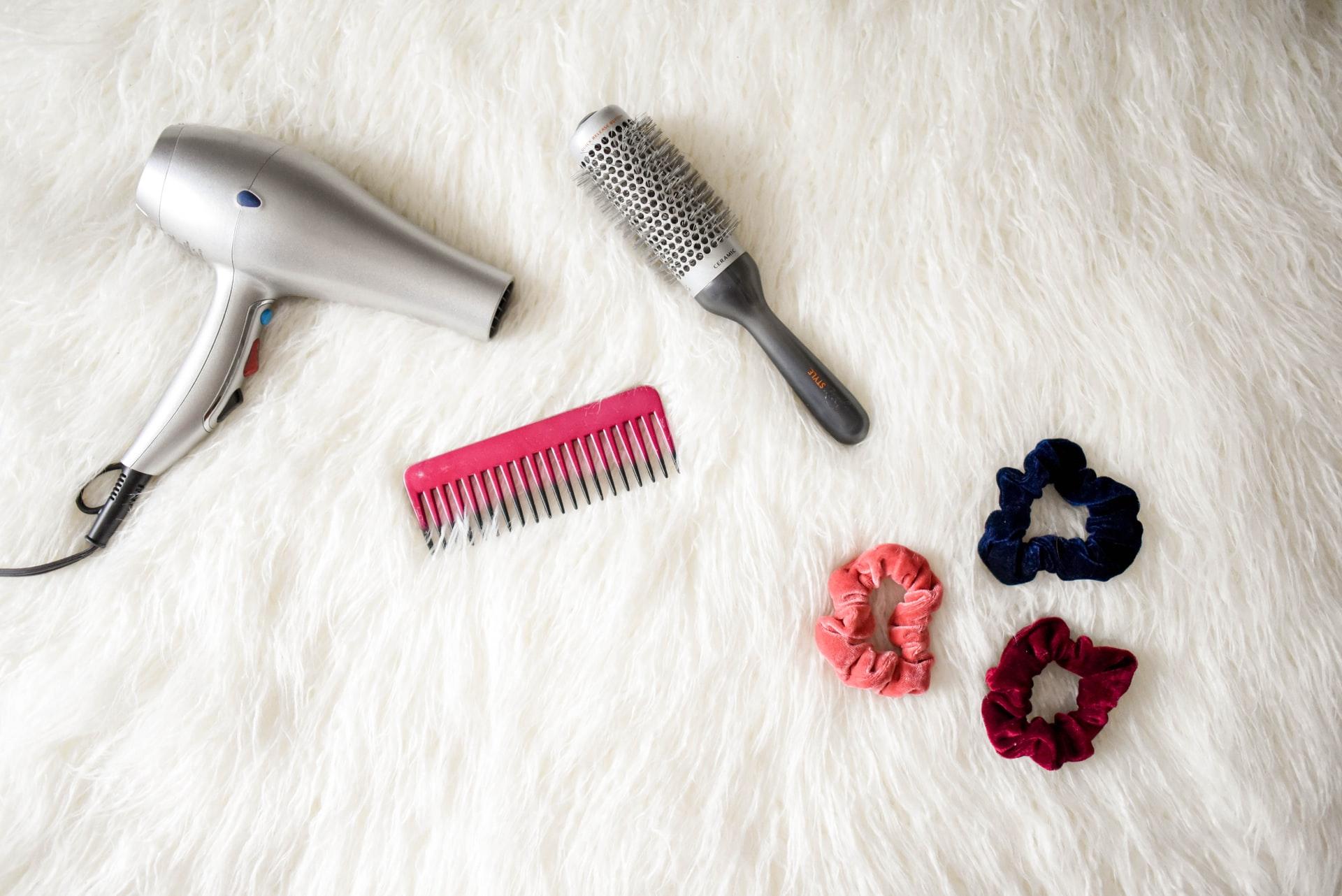secador estraga o cabelo