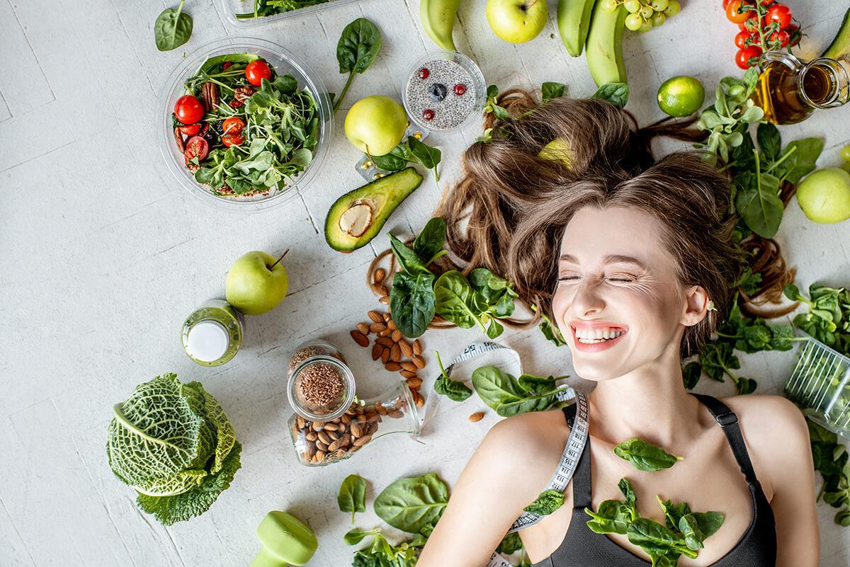 saúde dos cabelos e alimentação